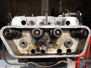 PORSCHE 356 ENGINE BUILD, REBUILD, REPAIR : 4  ENGINE STRIP DOWN