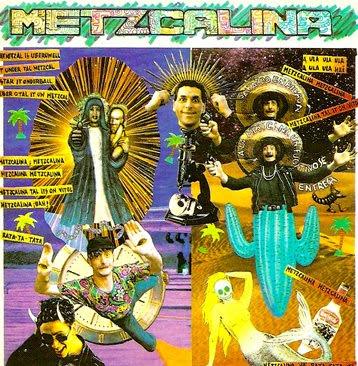 Metzcalina, arte de tapa del disco