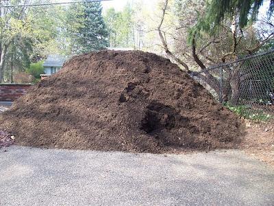 20 yards of mulch