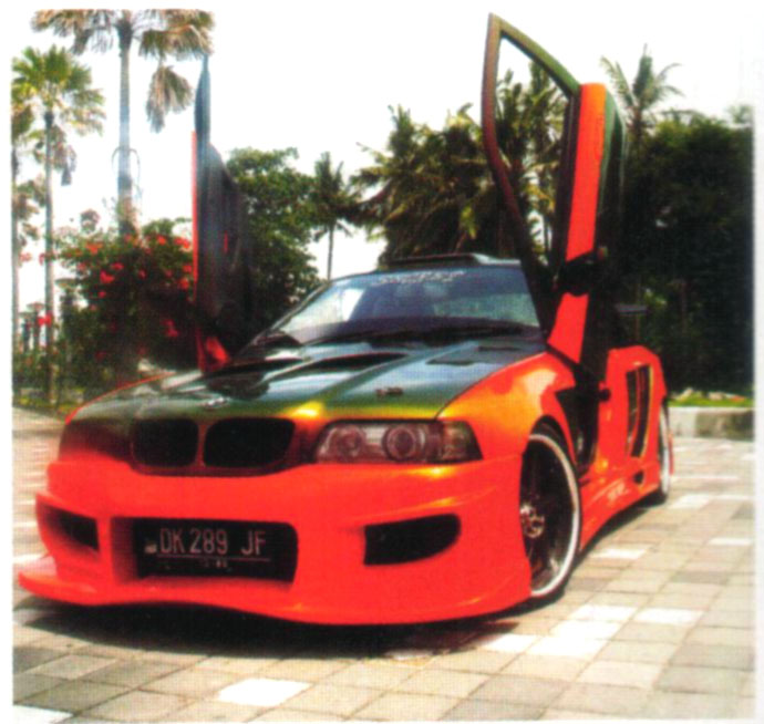 Custom Modified Cars BMW 320i Street Racing Modification