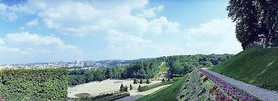 la Grande Terrasse et la vue sur Paris