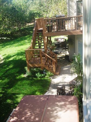 Remodelaholic Deck Remodel Before And After