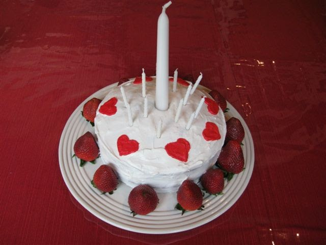 Catholic Cuisine A Cake For Pentecost