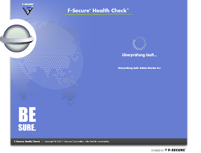 F-Secure Health Check