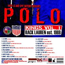 "Rack-Lo ""Polo Kings Vol.1"" $9.99"