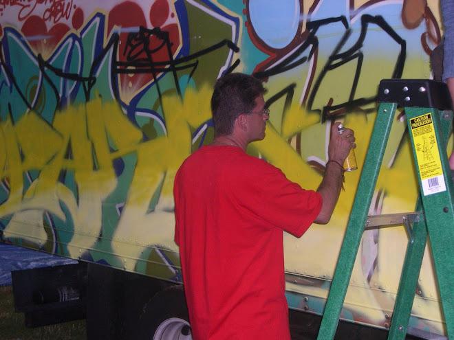 HIP HOP GRAF @ ROCK STEADY 2007