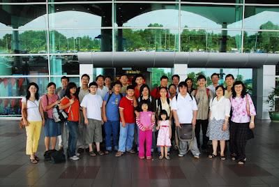 Group Photo at Miri Airport