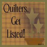 Quilter's Get Listed