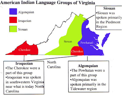 Similiar Map Of Virginia Indian Tribes Keywords