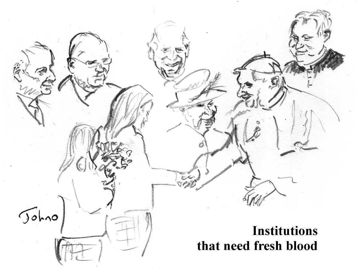 All in the Name of Liberty: fresh blood