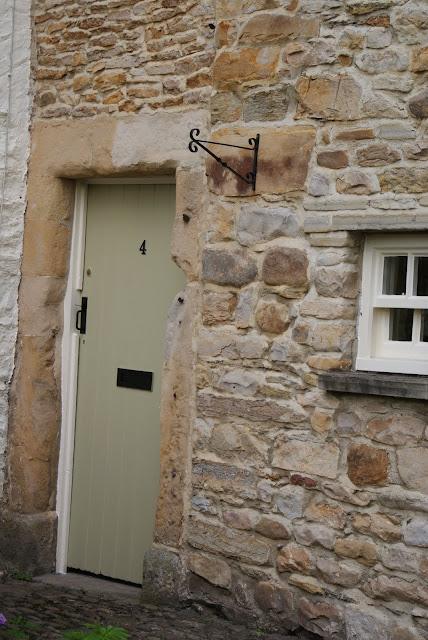 Farrow and Ball Ball Green front door paint