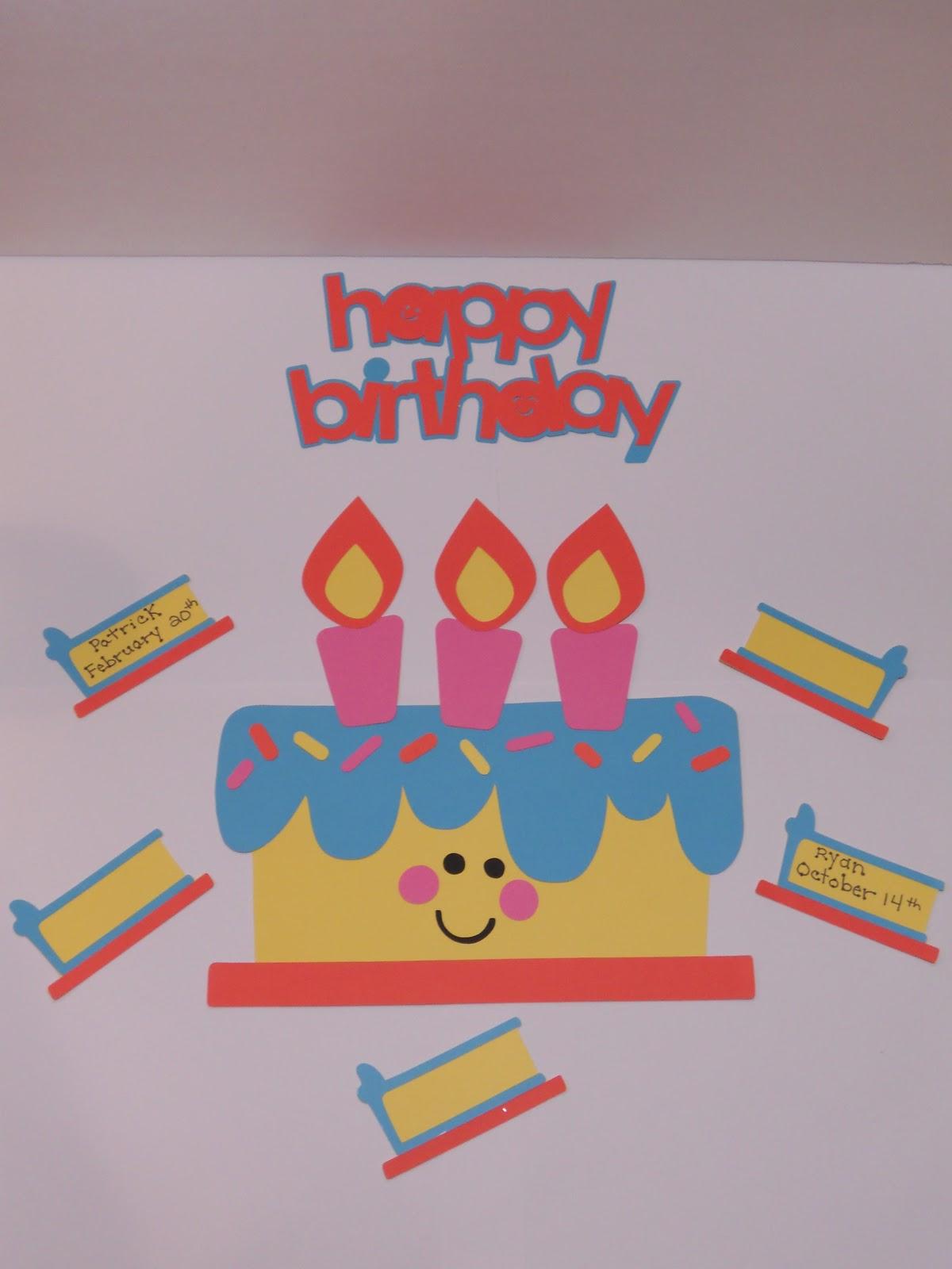 Create Your Classroom Happy Birthday Classroom Poster
