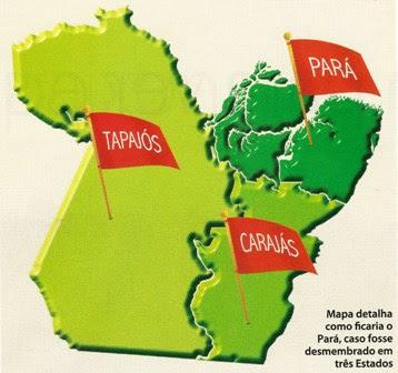 Off topic: Aprovado plebiscito para criação do Estado do Carajás