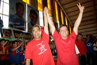 Resultado de imagem para eleição 2008 darci lermen é eleito prefeito