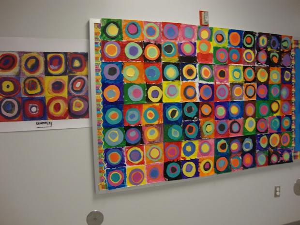 Kandinsky Classroom Display