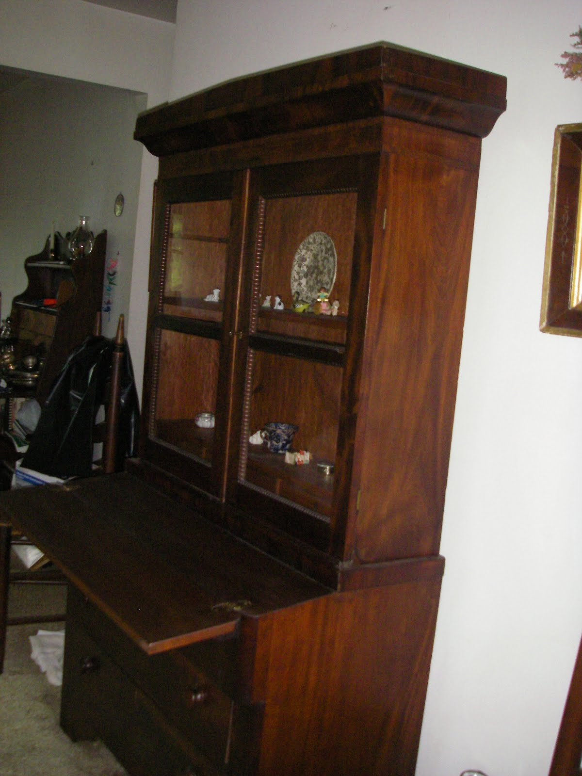 Yard Sale Furniture Estate Sale Antique Cabinet Hutch
