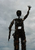 Waste Man - before being burnt