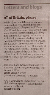partial scan of letters page from Technology Guardian - 3 January 2008