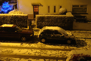 Snow in East Belfast