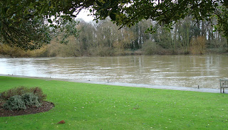 River Thames - high water - Windsor