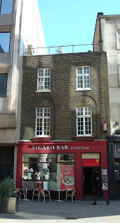 Excellent sandwiches from Figaro Bar, Moorfields, near Moorgate tube station, London