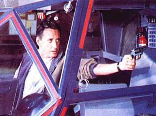 Roy Scheider as Pilot Frank Murphy in the film Blue Thunder