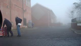 Foggy Belfast