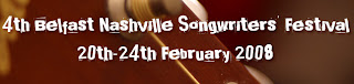 logo of the 4th Belfast Nashville Songwriters Festival