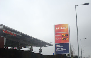 Sainsbury's Fuel Sign problems