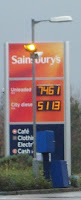 Problem with the Sainsbury's fuel prices?
