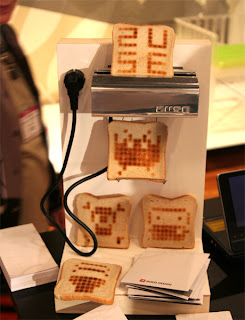 The ZUSE compact, 12x12 dot-matrix toaster