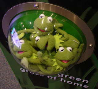 Green Kermit the Frog collection