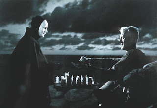 Playing chess with death, from The Seventh Seal