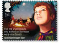 Royal Mail Scouting Stamp, July 2007