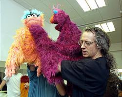 Marty Robinson - Sesame Street puppeteer - Sesame Tree - The Jim Henson Company