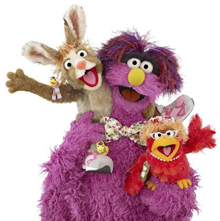 Sesame Tree Northern Ireland publicity shot - cropped from BBC News website version