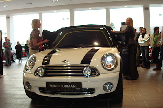 Mini Clubman being unveiled