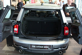 The boot of a Mini Clubman