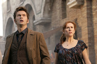 *** Images embargoed for publication until 8th April 2008 *** ©BBC Picture shows: ( l-r) DAVID TENNANT as The Doctor, CATHERINE TATE as Donna Noble. Episode 2. 'The Fires Of Pompeii'. TX: BBC ONE Saturday 12th April 2008 WARNING: Use of this copyright image is subject to the terms of use of BBC Picturesí BBC Digital Picture Service. In particular, this image may only be published in print for editorial use during the publicity period (the weeks immediately leading up to and including the transmission week of the relevant programme or event and three review weeks following) for the purpose of publicising the programme, person or service pictured and provided the BBC and the copyright holder in the caption are credited. Any use of this image on the internet and other online communication services will require a separate prior agreement with BBC Pictures. For any other purpose whatsoever, including advertising and commercial prior written approval from the copyright holder will be required.