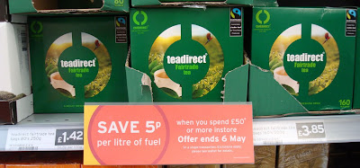 tea direct pricing anomoly