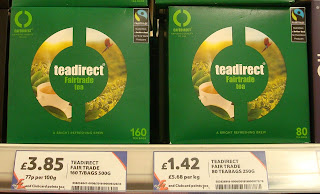 Tesco Knocknagoney teadirect teabags