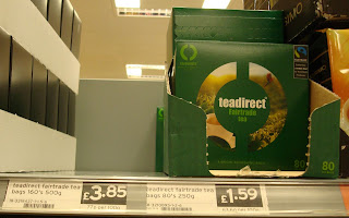 Sainsburys Forestside teadirect teabags