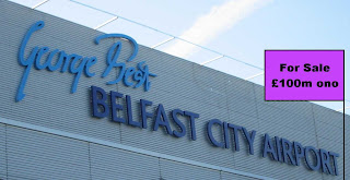 George Best Belfast City Airport up for sale!