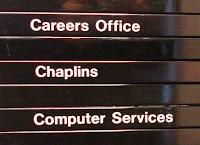 UUJ Signage - Chaplains
