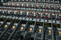 Digital mixing desk at Whitewell