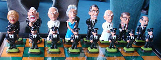 Northern Ireland political chess set