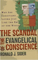 Cover of Robert Sider's The Scandal of the Evangelical Conscience