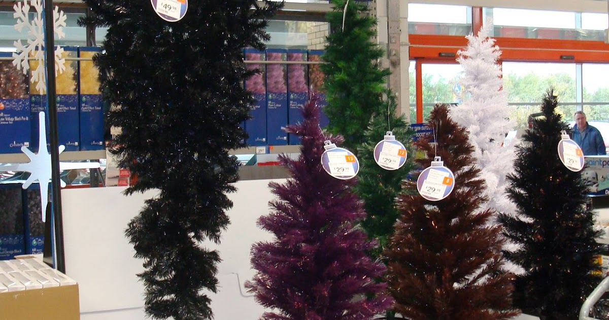 Alan In Belfast: Turning Christmas (tree) On Its Head
