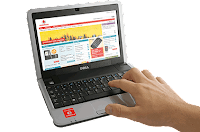 Vodafone-branded Dell Inspiron Mini 9 netbook