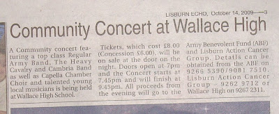 Clipping from Lisburn Echo